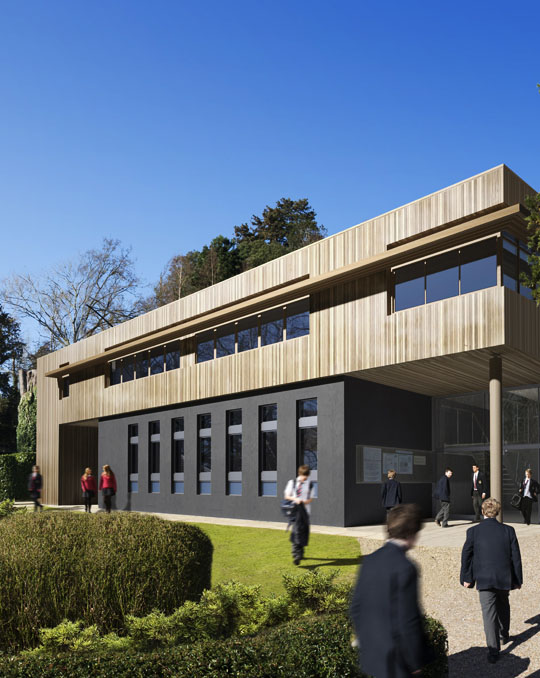 School CGI Architectural Planning Application Photomontage