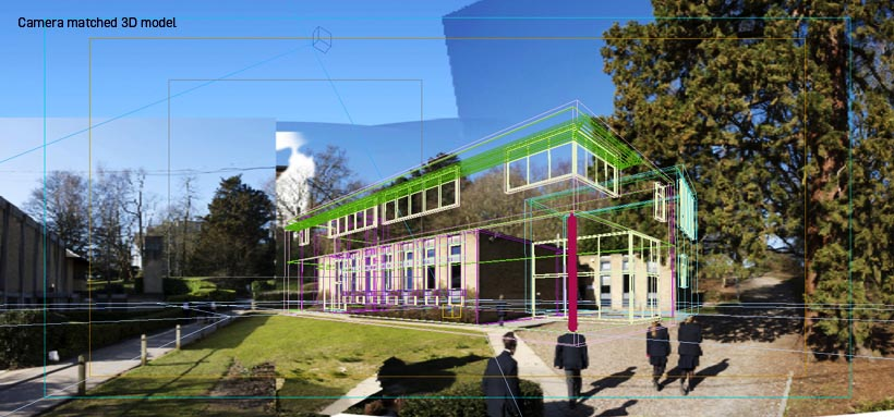 School Architectural Visualisation 3D Architectural Model
