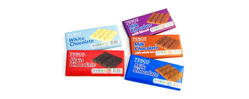 Tesco 3D Packaging Visualisation